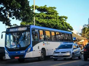 Ônibus que circulam pela região da orla de Maceió terão os itinerários alterados (Foto: Divulgação/SMTT)