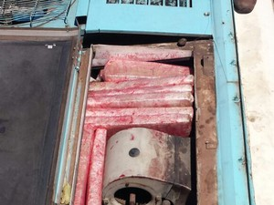 Droga estava escondida na lataria de um veículo (Foto: Divulgação/SSPMA)