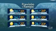 Veja a previsão do tempo e variação da maré para esta terça-feira (19) no Maranhão