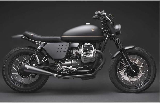 moto guzzi v7 stone ganha estilo retr u00f4