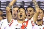 Leonel Vangioni Comemoração do River Plate copa Sul-americana (Foto: Agência AFP )