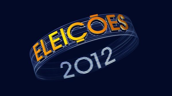 Logotipo Eleições 2012 (Foto: Reprodução / TV TEM)