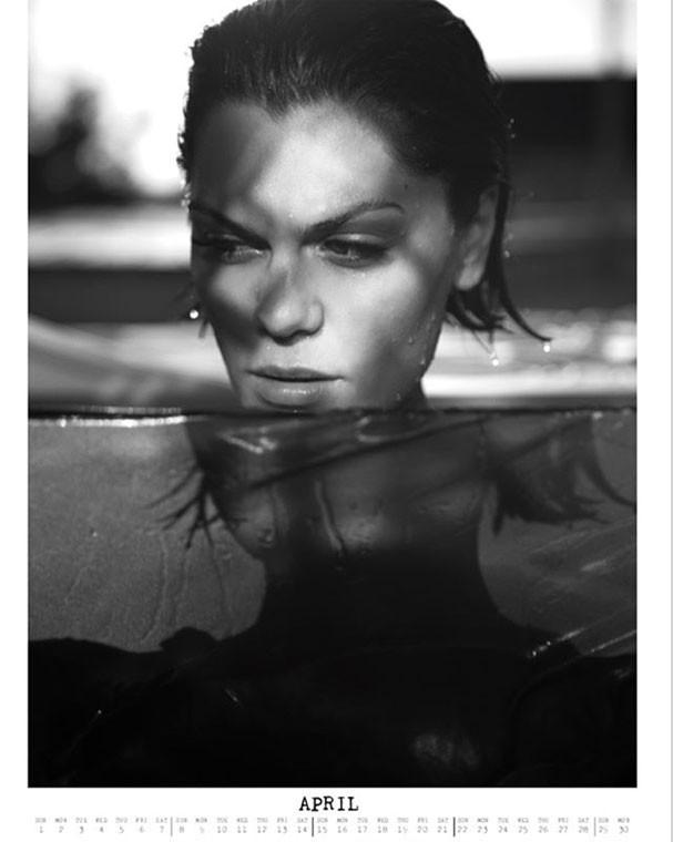 Jessie J em imagem do mês de abril (Foto: Reprodução/Instagram)