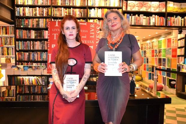Fernanda Young e Vera Fischer (Foto: Webert Belício/ Brazil News)