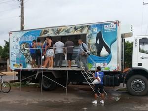 Caminhão do Peixe estará nesta quinta (11) e sexta (12) no bairro Caranã (Foto: Divulgação/AndersonSoares/SFPA/RR)
