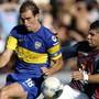 somoza ortigoza boca juniors x san lorenzo (Foto: AFP)