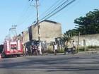 Mulher é atropelada por moto na Av. Wilson Mendes, em Cabo Frio, RJ
