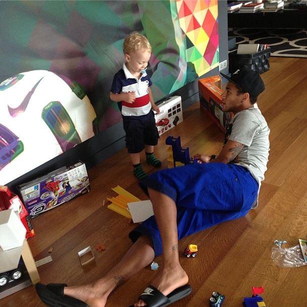 Davi Lucca, filho de Neymar  (Foto: Instagram/Reprodução)