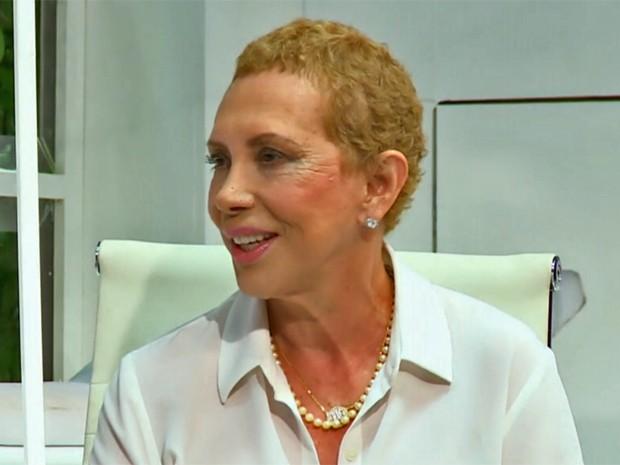 Arlete Salles está de volta aos palcos (Foto: Vídeo Show / TV Globo)