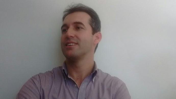 Léo Condé, novo técnico do CRB (Foto: Leonardo Freire/GloboEsporte.com)