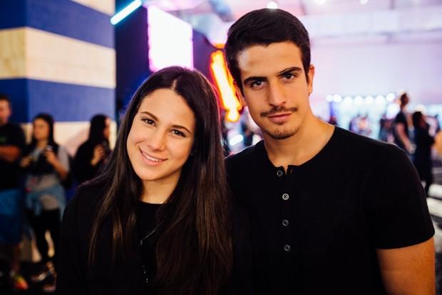 Sophia Raia e Enzo Celulari no SPFW N42 (Foto: Elisa Mendes)