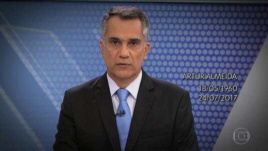 Corpo do jornalista Artur Almeida deve ser liberado hoje