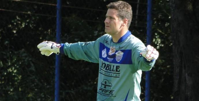 Júlio Sérgio, goleiro do Comercial (Foto: Gabriel Lopes / Comercial FC)