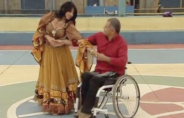 Estudante decidiu estudar os efeitos da dança na vida dos deficientes (Foto: Regina Borges/Arquivo Pessoal)