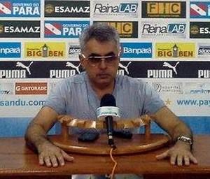 Sérgio Papelin, diretor executivo de futebol do Paysandu (Foto: Ronaldo Santos/Ascom Paysandu)