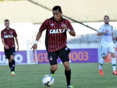 Natanael, no jogo entre Atlético-PR e Chapecoense (Foto: Divulgação/ Site oficial Atlético-PR)