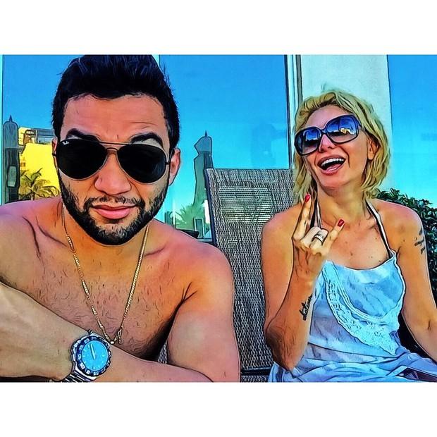 Jonathan Costa e Antônia Fontenelle (Foto: Reprodução/Instagram)