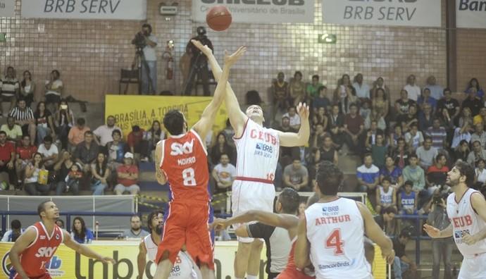 Brasília x Pinheiros playoffs NBB (Foto: Brito Júnior / Divulgação)