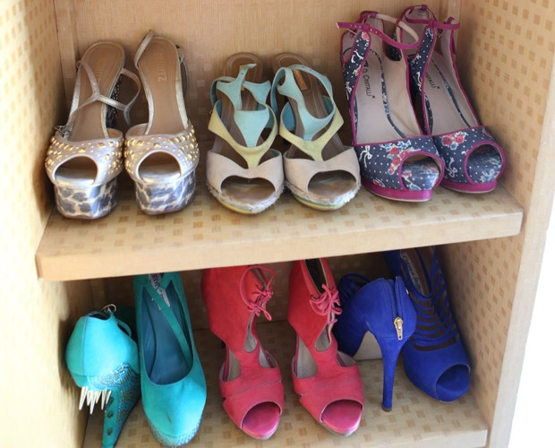 Acredita que os fãs dão até sapatos para a poderosa? (Foto: Pedro Curi / Gshow)