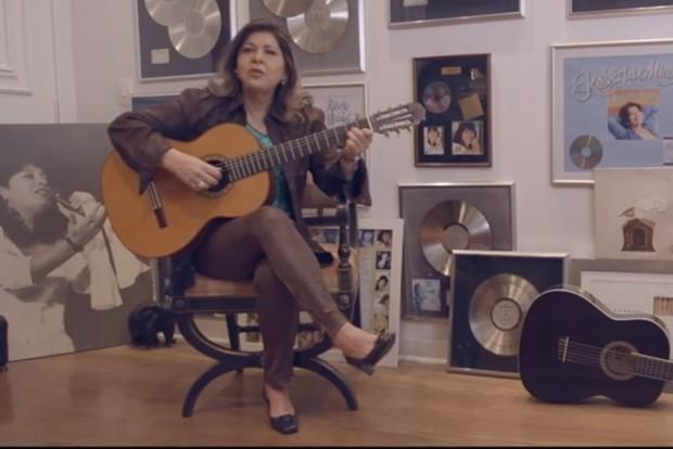 Roberta Miranda lança música com Henrique e Juliano (Foto: Reprodução)