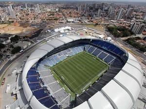 Confira fotos aéreas do Arena das Dunas, em Natal (Foto: Canindé Soares/Ascom-RN)