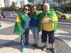 Arenas reúnem brasileiros de todos os cantos para torcer pelo país no Rio