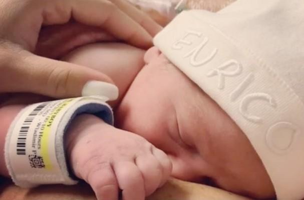 Enrico, filho de Karina Bacchi (Foto: Instagram/Reprodução)