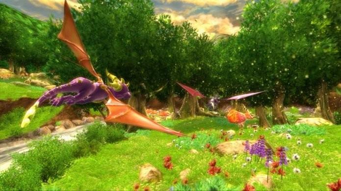 The Legend of Spyro: Dawn of the Dragon foi o último game da franquia lançado, em 2008. (Foto: Divulgação)