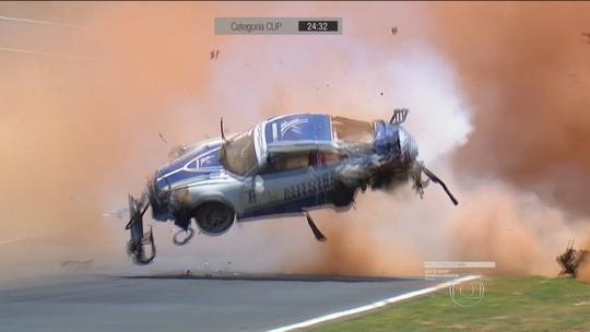 Recuperado de acidente, Pedro Piquet volta às pistas em clima de despedida