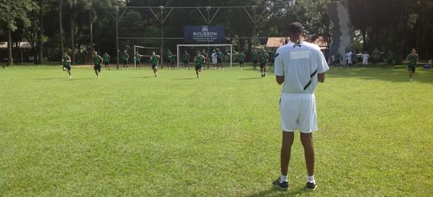 Coritiba inicia preparação física da pré-temporada em Foz do Iguaçu (Foto: Reprodução / Facebook)