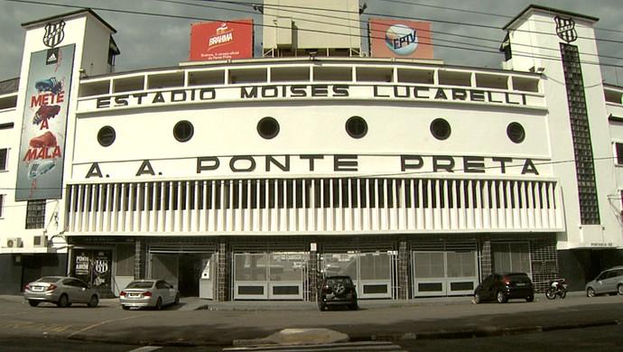 Estádio Moisés Lucarelli, Majestoso, Ponte Preta (Foto: Carlos Velardi/ EPTV)