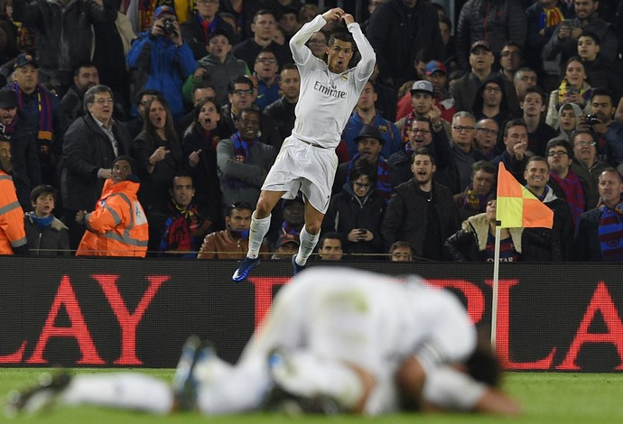 Cristiano Ronaldo Barcelona Real Madrid (Foto: AFP)