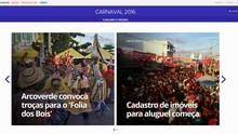 G1 Caruaru e Região lança editoria sobre o carnaval de Pernambuco (Reprodução/  TV Asa Branca)