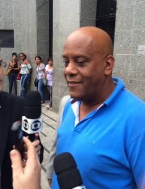 André Negão Corinthians Polícia Federal (Foto: Marcelo Braga)