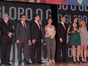 Entrega do Prêmio Caboré, na noite de terça-feira (4), no Credicard Hall, em São Paulo.  (Foto: Eliária Andrade / Agência o Globo )