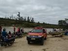 Bombeiros resgatam corpo de homem que se afogou em Taiobeiras