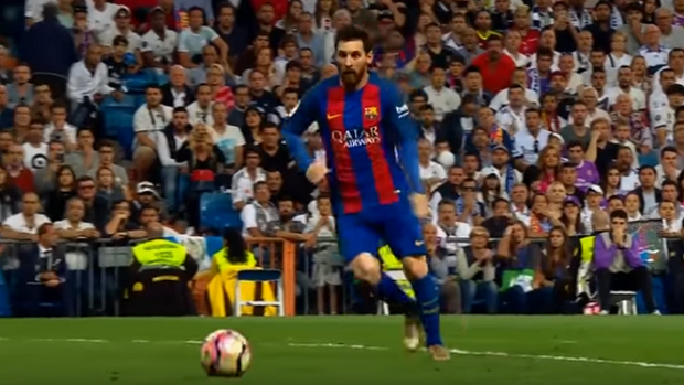 Messi clássico Real Madrid