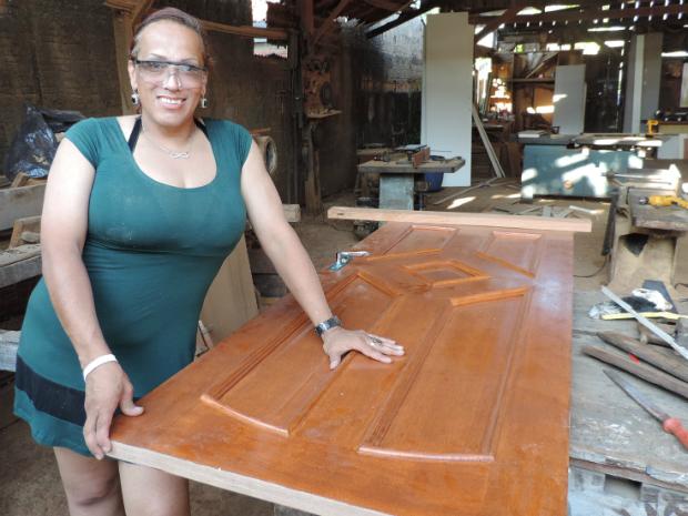 'Amo o que faço e trabalho com muita honra', ressalta Nilce Clayr (Foto: Arquivo Pessoal/Nilce Clayr)
