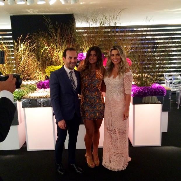 Marcos Proença, Giulia e Flávia Alessandra (Foto: Reprodução / Instagram)
