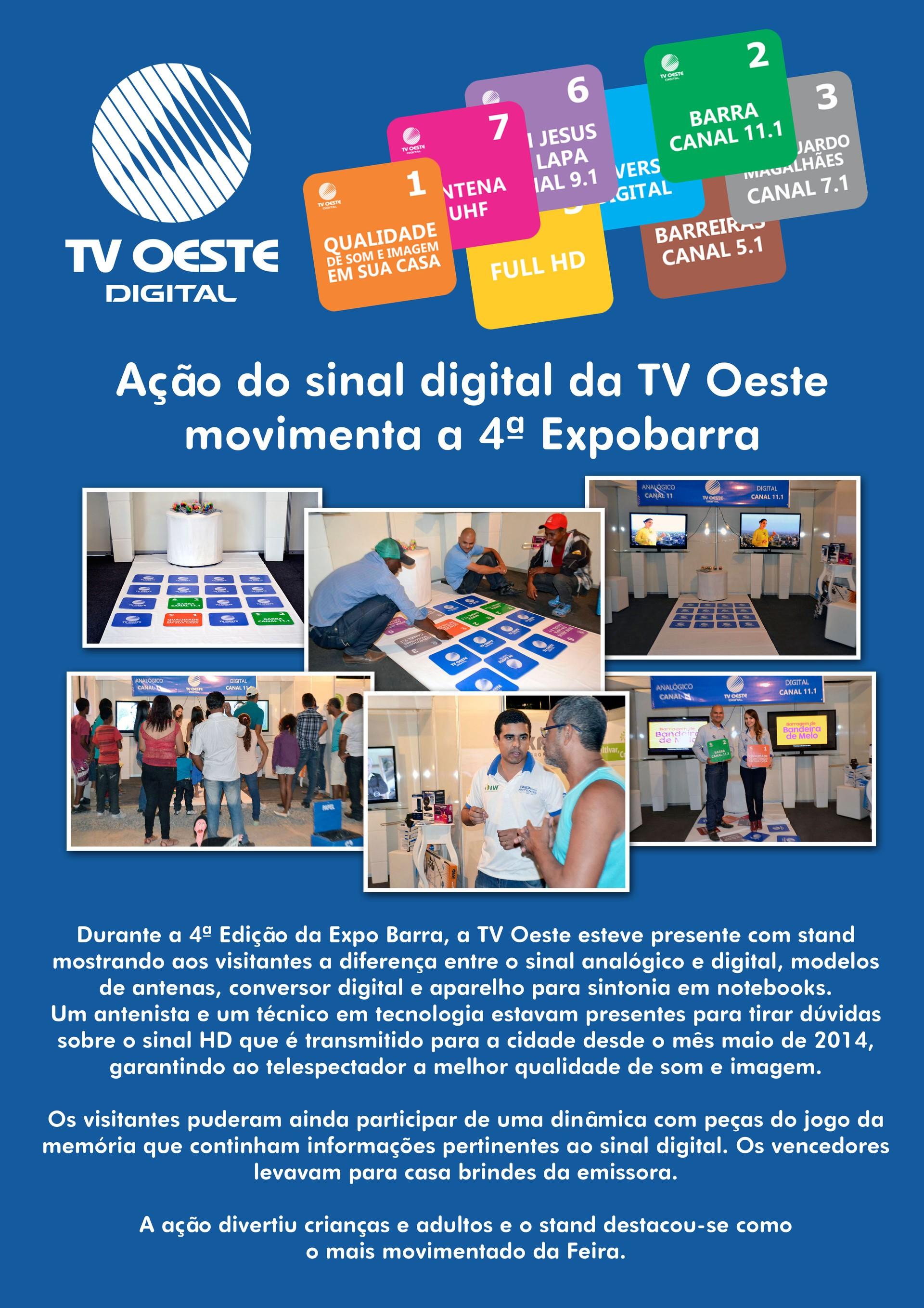 TV Oeste Digital (Foto: divulgação)