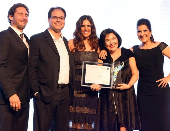 Época recebe principal prêmio de jornalismo de Comunicação (Foto: Bruno Lorenzo)