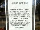 Caixa fecha agência da Pajuçara nos finais de semana por segurança