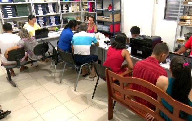 Cerca de 500 inscrições foram efetuadas para o projeto em Cruzeiro do Sul (Foto: Bom Dia Amazônia)
