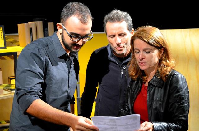 Raphael Montes, Tony Belotto e Emília Ferraz (Foto: Divulgação)