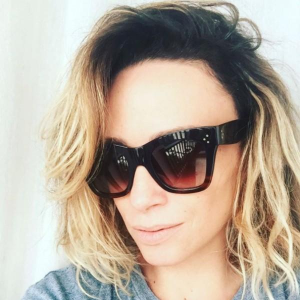 Suzana Pires exibe nova cabeleira  (Foto: Reprodução)