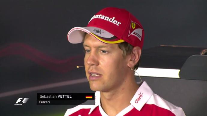 Vettel despedida massa (Foto: Reprodução)