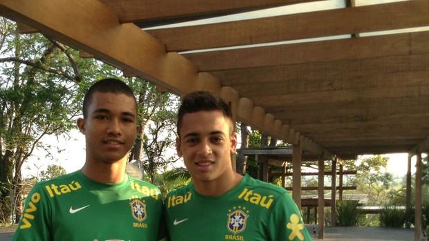 Tocantins Maycon Corinthians sub-17 (Foto: Marcus Vinícius Souza)