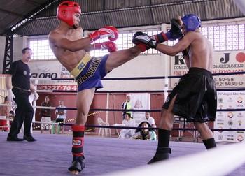 Alexandre da Silva Kick Boxing (Foto: Cleomar Macedo / Smel Mogi)