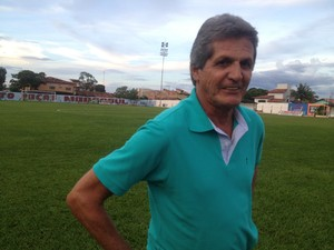 Roberto Oliveira diz que está feliz em reassumir o comando do Interporto (Foto: Bernardo Gravito/GloboEsporte.com)