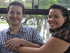 Jucimar conheceu a namorada há seis meses no Espírito Santo (Foto: Juirana Nobres/ G1)